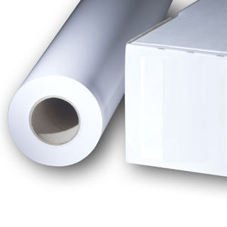 Picture of White Satin Poster Paper - 54in